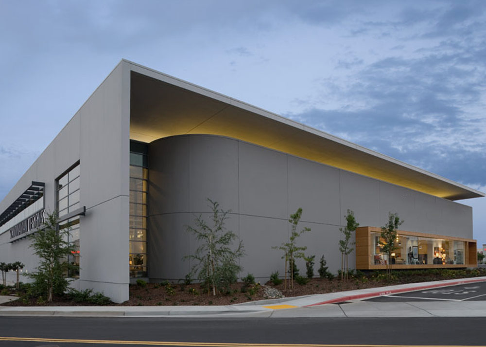 retail big box store exterior